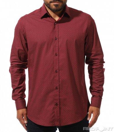 Ефектна спортно елегантна риза 10285