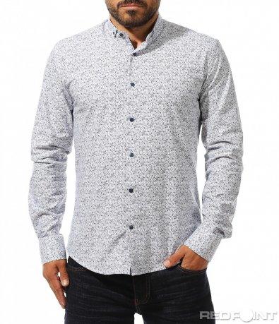 Ексцентрична риза с ефектен дизайн 10300