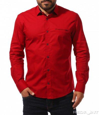 Изчистена цветна риза 10303
