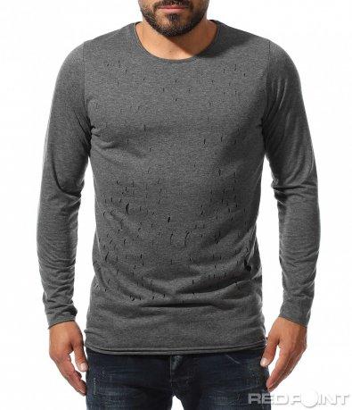 Bluză cu mânecă scurtă 10316