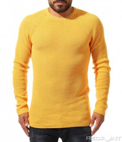 Еластична блуза от фино плетиво 10323