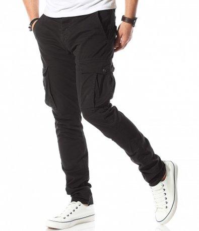 Втален спортен панталон с джобове 10756