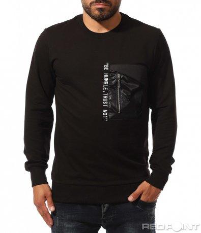 Спортна блуза с декорация 10329