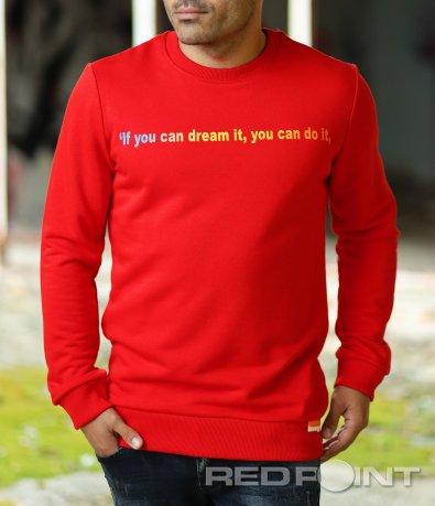 Ватирана блуза с щампа 10331