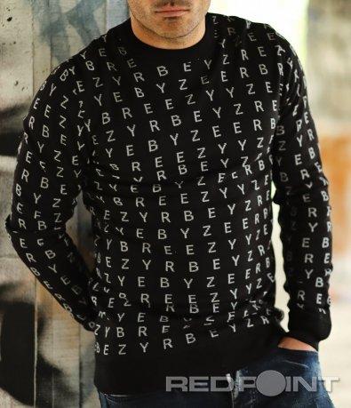 Есенен пуловер с надписи 10338
