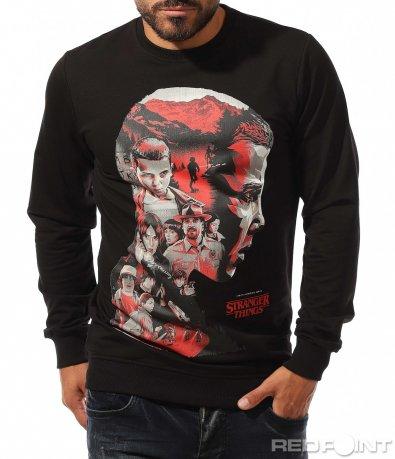 Черна блуза Stranger Things 10344