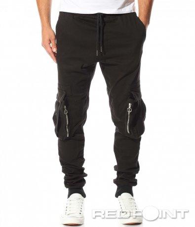 Спортен панталон с обемни джобове 10458