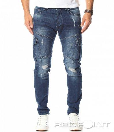 Спортни дънки с джобове 10467