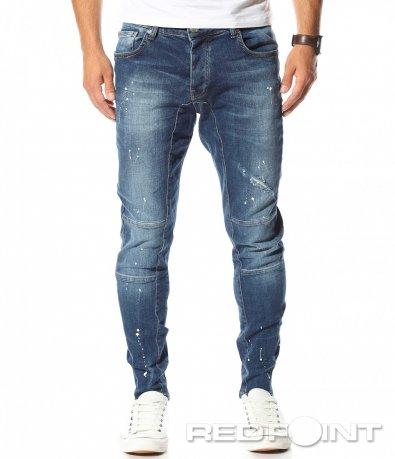 Сини дънки с пръски 10486