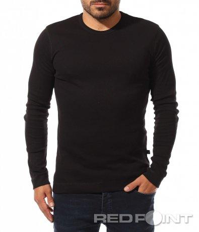 Bluză clasică cu mânecă lungă de toamnă 10491