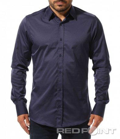 Елегантна вталена риза 10464