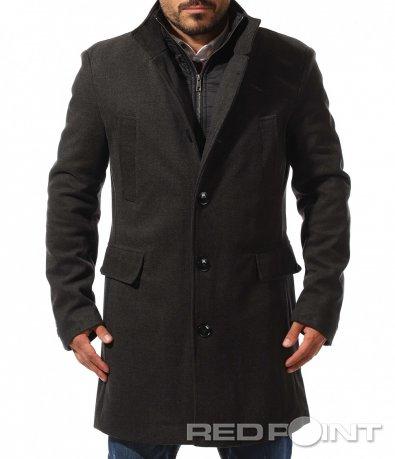 Стилно палто в класическа форма 10502