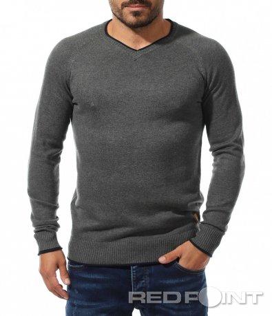 Свежа блуза с бод деколте 10161