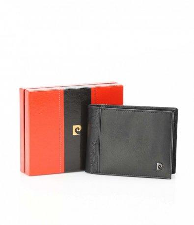 Черен портфейл с лого 10537
