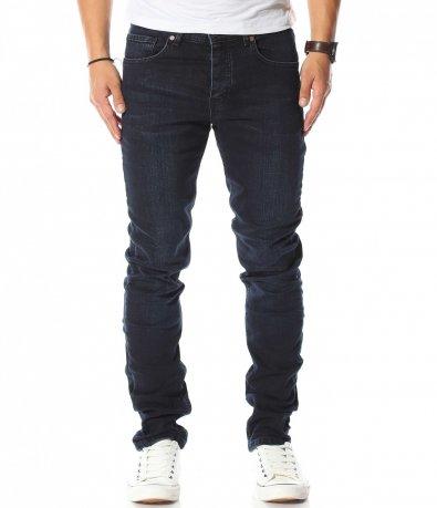 Класически тъмно сини дънки 10597