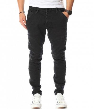 Черни дънки с италиански джоб 10548