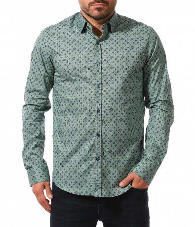 Автентична риза в свеж цвят 10553