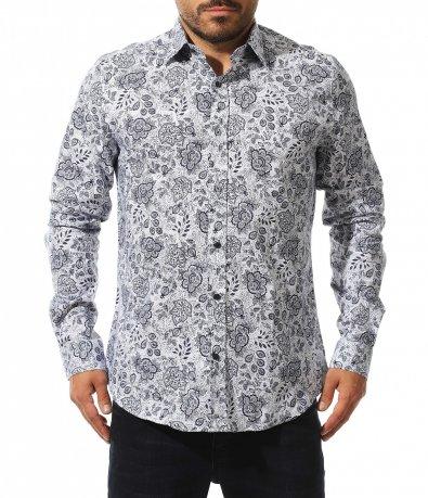 Свежа риза в класическа кройка 10559