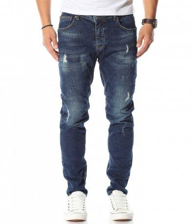 Син дънков панталон 10579