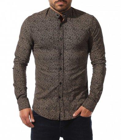 Вталена риза с орнаменти 10584