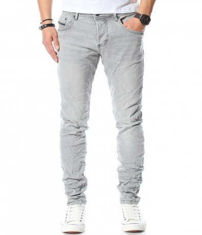 Втален дънков панталон 10625