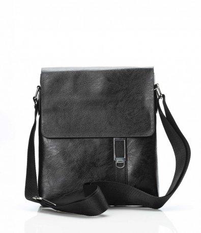 Спортно официална черна чанта 10666