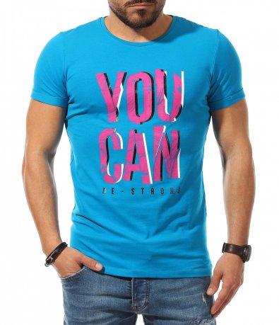 Свеж t-shirt с едър надпис 10688