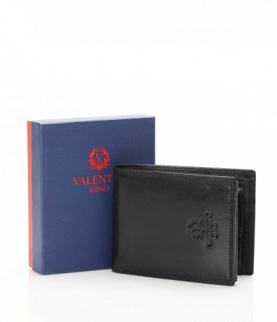 Практичен портфейл от естествена кожа 10716
