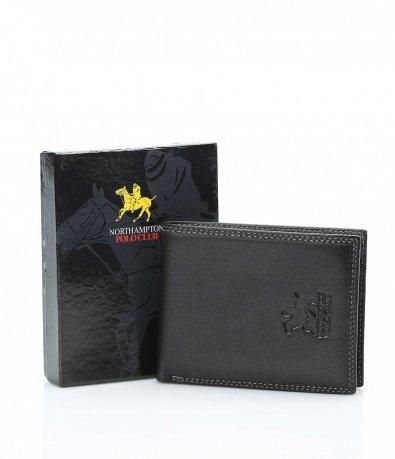 Черен портфейл с цветни разпределения 10711