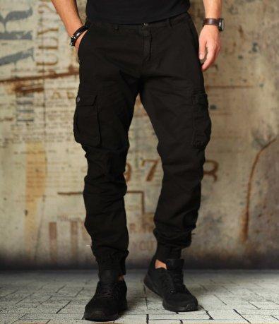 Ежедневен карго панталон с ластици 10819