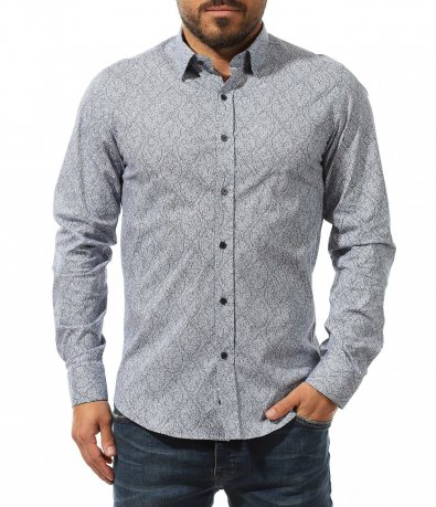вталена риза с орнаменти 10734