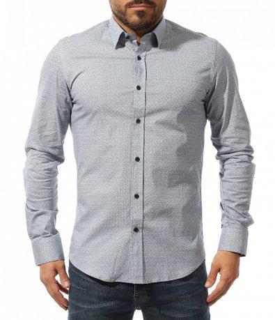 Елегантна вталена риза 10740