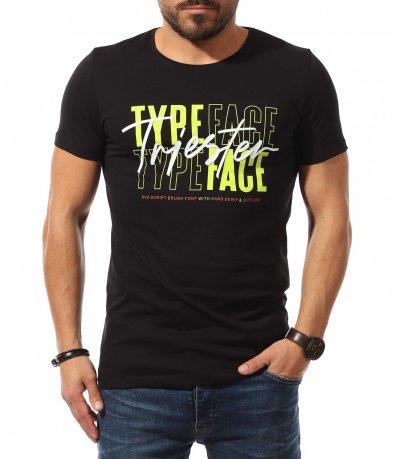 Casual тениска с ярък мотив 10775