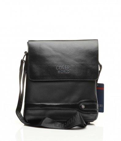 Черна спорно елегантна чанта 10858