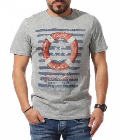 Тениска с морски мотив 10876