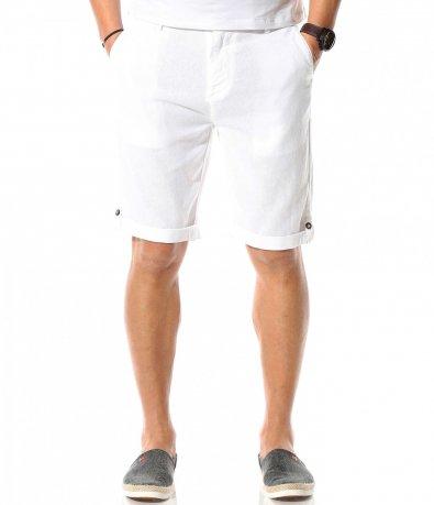 Летни къси панталони от лен 10873