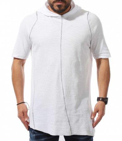 Casual блуза с къс ръкав 10951