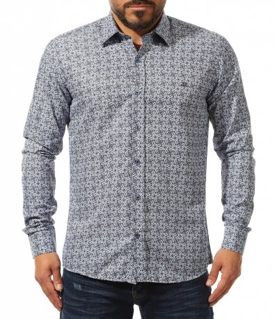 риза с дълъг ръкав 10937