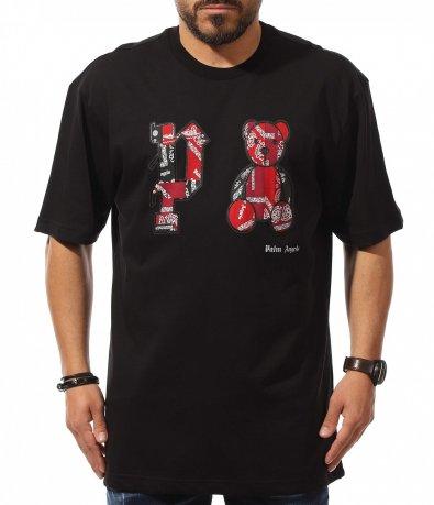 Тениска в кройка oversize 10904