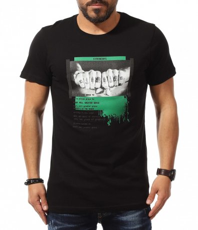 T-shirt с провокативна щампа 10921