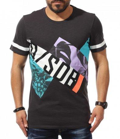 Авангарден t-shirt с цялостен принт 10946