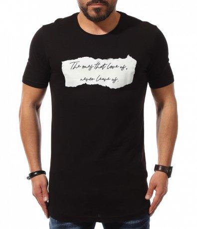 Тениска с авангардна декроация 10949