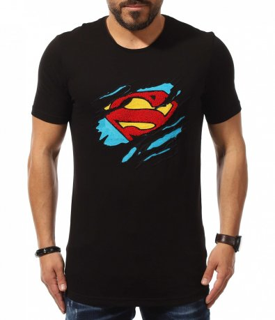 Черна тишъртка SUPERMAN 10954