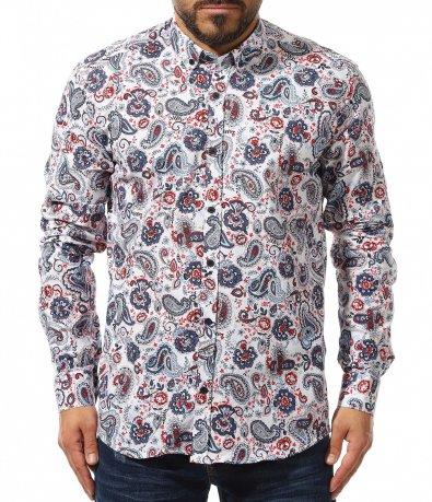 риза с дълъг ръкав 10968