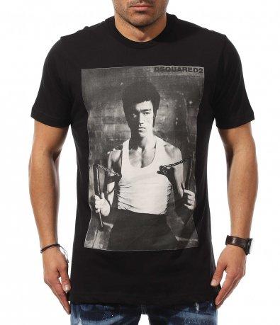 Клубна тениска с щампа DSQUARED 10989