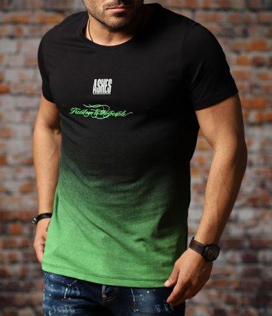 Тениска с омбре ефект 10996