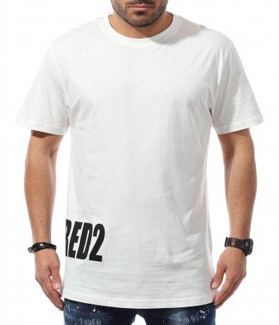 Тениска DSQ с надпис 10993
