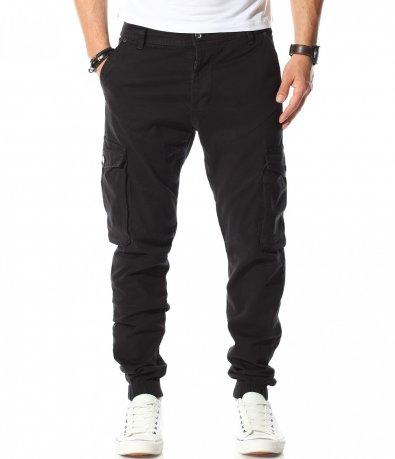Ежедневен карго панталон с ластици 11016