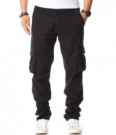 Спортен карго панталон със свободна кройка 11020