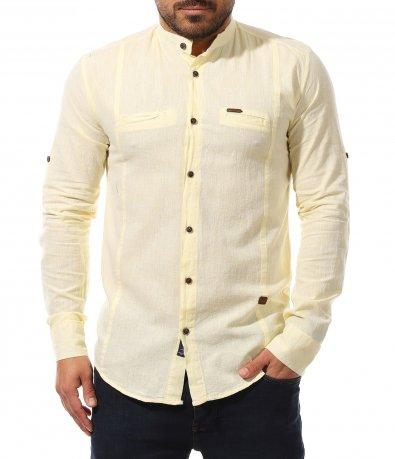 Втален модел риза от памук 11028